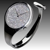 Vivianna Torun Bülow-Hübe Diamond & Stainless Steel Watch