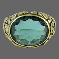 Oakes Studios Gold Ring with Tourmaline