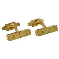 Georg Jensen Gold Cufflinks No. 1064