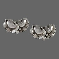Georg Jensen Silver Earrings No. 50A
