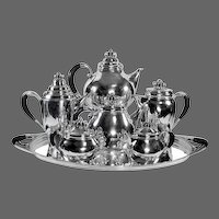Georg Jensen Sterling Silver Coffee/Tea Service No. 251