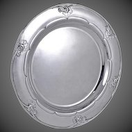 Georg Jensen Sterling Silver Round Tray or Salver No. 232E