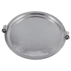 Georg Jensen Sterling Silver Tray No. 591
