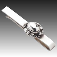 Georg Jensen Sterling Silver Tie Bar No. 17