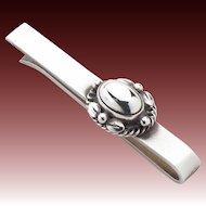 Georg Jensen Sterling Silver Tie Bar No. 17