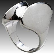 Georg Jensen Sterling Silver Ring No. 140