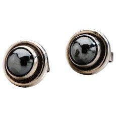Georg Jensen  Earrings No. 8 with Hematite