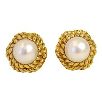 Pearl Earrings by David Webb