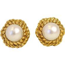 Pearl Earrings by David Webb