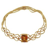 Braided Gold Choker by Hermes