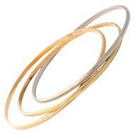 Trinity Rolling Bracelet from Cartier