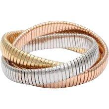 18k Tubogaz Rolling Bracelet