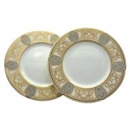 Set of 12 Minton Art Nouveau Dinner Plates
