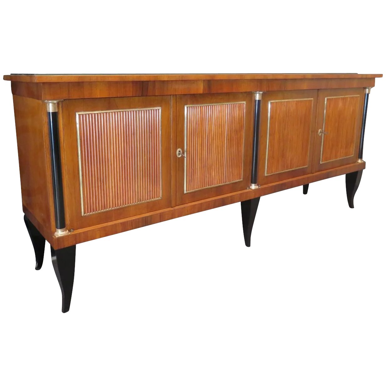 Black Lacquered Dining Room Sideboard