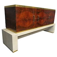 Italian Art Deco Walnut Sideboard