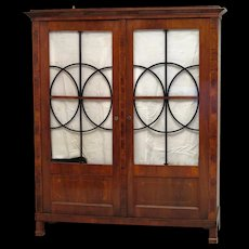 Wonderful Biedermeier Bookcase, Austria 1830s
