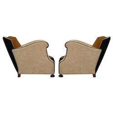 Two Italian Club Chairs