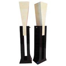 Pair of Art Deco Italian Floor Lamps, 1920s