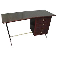 Rosewood Desk attributed to Ico Parisi