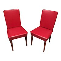 Pair of Italian Chairs by Anonima Castelli, Bologna