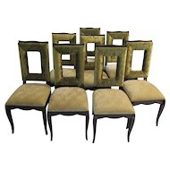 Set of Eight Side Chairs, 1930s
