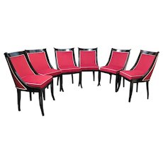 Six French Chairs