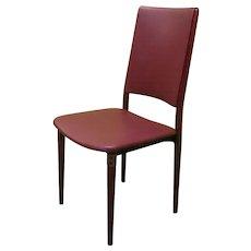 Six Osvaldo Borsani Chairs for Tecno