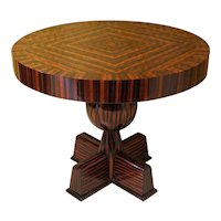 Side Table in Ebony Macassar