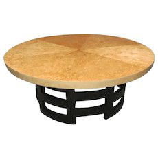 Circular Art Deco Cocktail Table