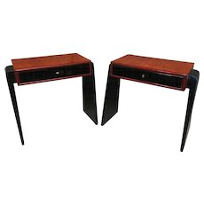 Pair of Art Deco Occasional Tables