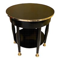Circular Adolf Loos Table