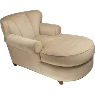 Grange Furniture Art Deco Style Chaise Longue