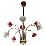 Chandelier in the Manner of Stilnovo