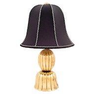Documented table lamp Josef Hoffmann Wiener Werkstätte ca. 1920s brass marked