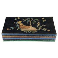 Wooden Cassette Box by Irene Schaschl for Wiener Werkstatte
