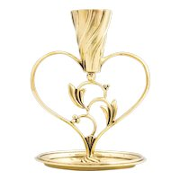 "Werkstatte Hagenauer, Candle holder, ""Herz"" heart shaped, ca 1928"