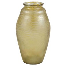 Exquisitely Shaped Large Loetz Vase Phen Genre 85/3780 ca 1900