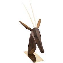 Sculpture of a Gazelle from the Werkstatte Hagenauer