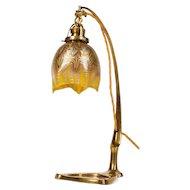 Table lamp by Johann Loetz