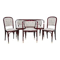 Gustav Siegel, Viennese Bentwood suite for Thonet 1899