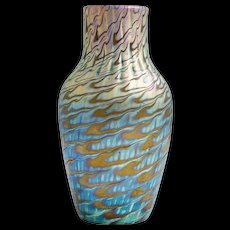 Highly iridescent Loetz vase ca. 1898 Phenomen Gre 7734