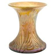 Very Early Signed Phaenomen Vase by Johan Loetz Witwe, ca. 1899