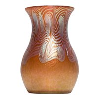 Phänomen Gre 3/430 Rot Vase by Johan Loetz