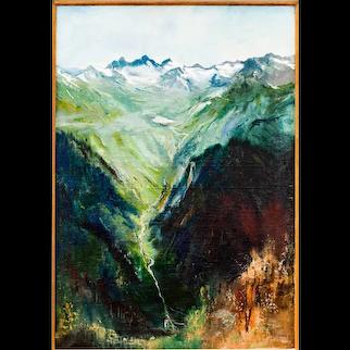 "Ernst Huber ""Lake Vermunt"" 1938/39"
