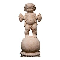 Michael Powolny Putto on a column ca. 1914