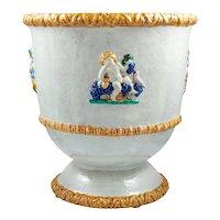 Michael Powolny Large ceramic vase Four seasons Wienerberger Keramik ca. 1916/7