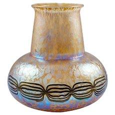 Loetz Vase by Leopold Bauer decor Phenomen Gre 2/177 ca.1906