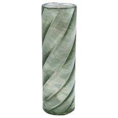 Loetz Vase grey Melusin ca. 1906 strong shape