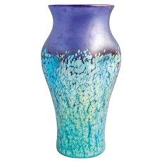 Moser Green & Gilt Art Glass Vase Circa 1900 Art Glass