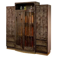 Cabinet design Hans Vollmer ca. 1910 documented execution Jacob Kain